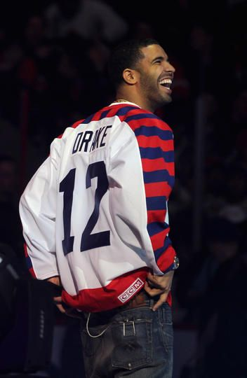 Drake @ the NHL all star game!