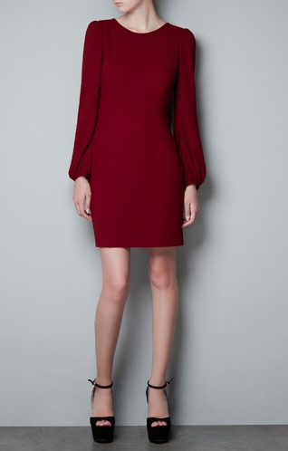 This tailored dress would look fabulous with a Why Knot Black Basic Motion scarf. Just Saying...
