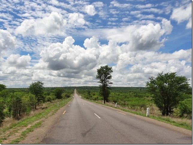 """The road towards Bulawayo is decent, we can say that even very, very decent and there is almost no traffic."""