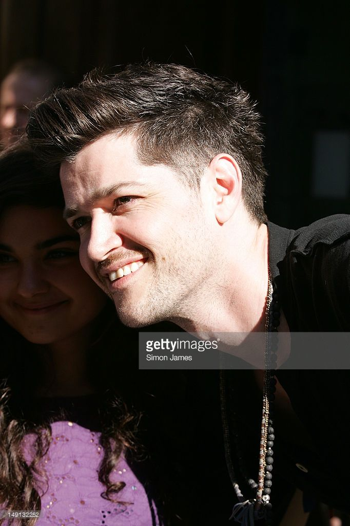 Danny O'Donoghue sighted ar BBC radio one on July 23, 2012 in London, England.