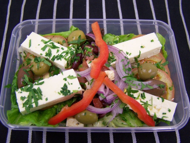 Healthy Take away Choice - Greek Salad