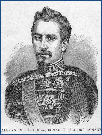 Alexandru Ioan Cuza - domnul Ţărilor Române