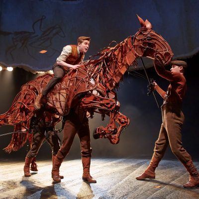 Experience the unforgettable journey of War Horse, live at the New London Theatre. Discover the story and book your War Horse tickets online.