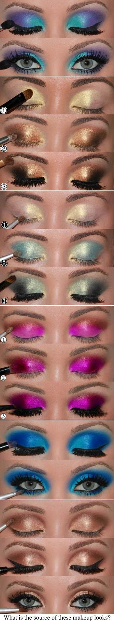 Bright makuep [ Here-To-Please-You.com ] #makeup