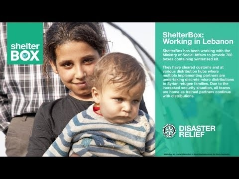 ShelterBox: Syrian Refugees in Lebanon