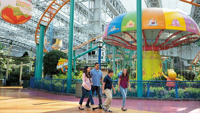 Quatang Gallery- Take A Virtual Tour Of Nickelodeon Universe At The Mall Of America In 2020 Nickelodeon Mall Of America Virtual Tour