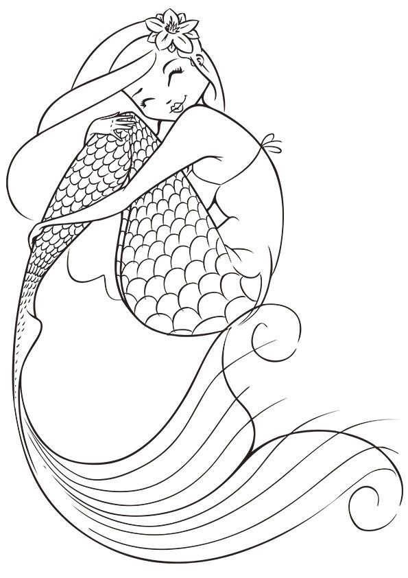 images Free Mermaid Coloring Pages cool mermaid coloring pages pdf to