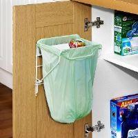 Metal Waste Rubbish carrier Bag Holder Bin - Very strong cupboard doors caravans
