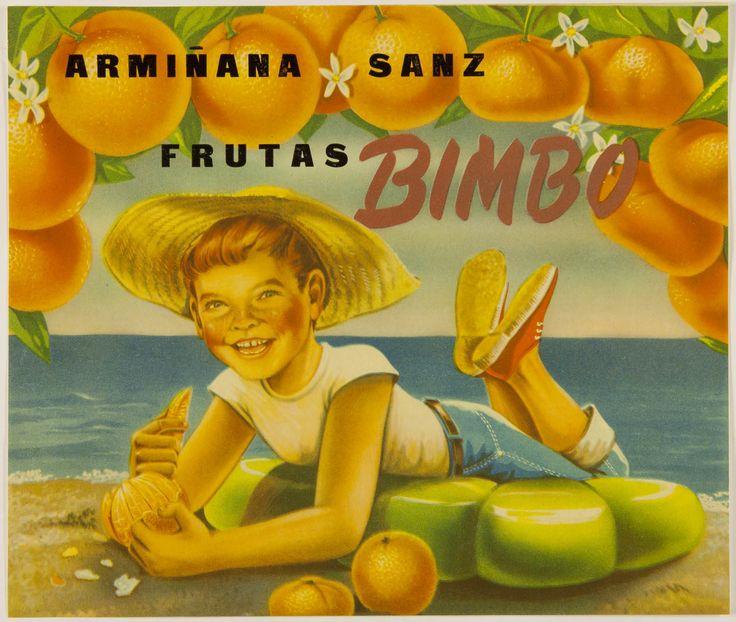Frutas Bimbo : Armiñana Sanz. Entre 1925 y 1950
