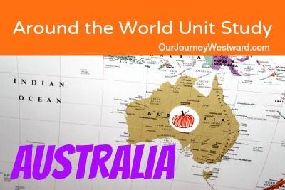 Australia unit study at Our Journey Westward