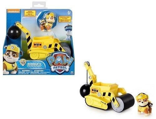 Nickelodeon Rubble's Steam Roller Paw Patrol Vehicle Mini Figure Kids Toy Gift #NickelodeonRubblesSteamRoller