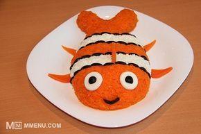 """Приготовление блюда по рецепту - Салат на детский день рождения """"Рыбка Немо"""". Шаг 7"""