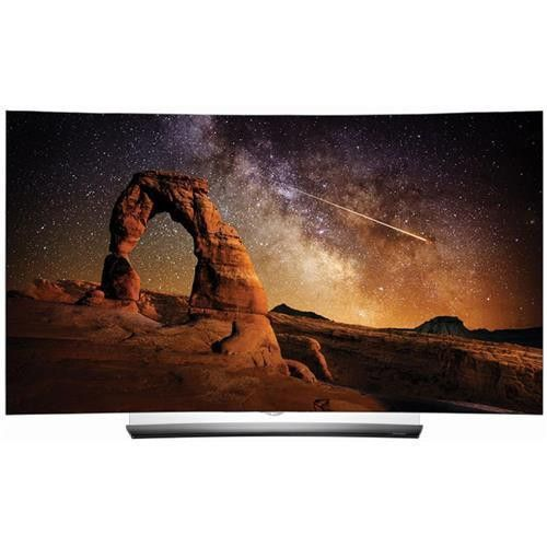 "LG Smart TV - 55"" 4K UHD Curved OLED 3D TV"
