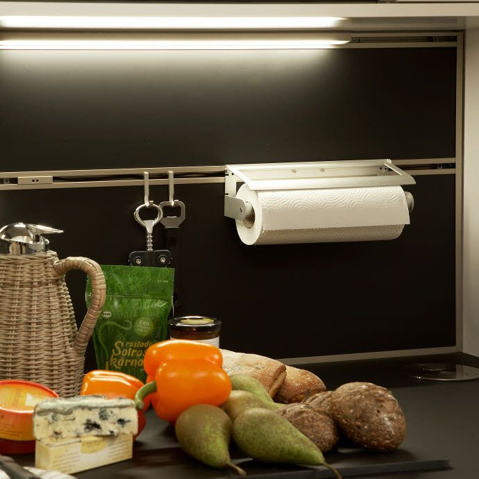 Smartvegg tørkerullholder