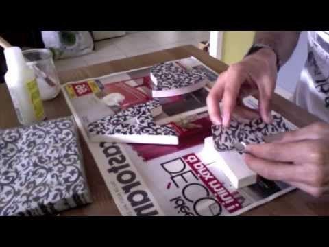 les 41 meilleures images propos de collage serviette serviettage sur pinterest coffrets. Black Bedroom Furniture Sets. Home Design Ideas