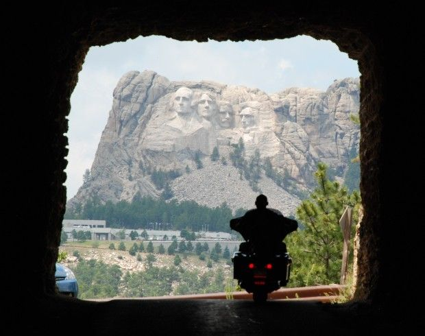 Mt Rushmore - and Sturgis Bike Week