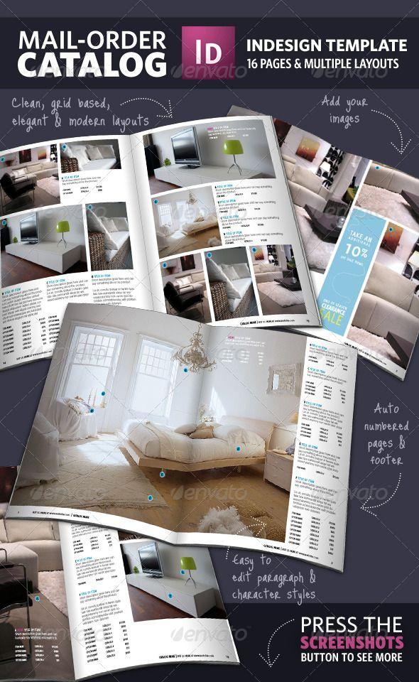 catalog layout - Google Search
