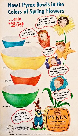 Vintage Pyrex Advertisement                                                                                                                                                                                 More
