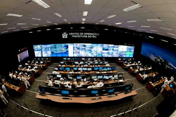 emergency operations centers | Photo credit: The City of Rio de Janeiro.