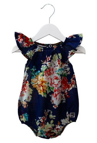 Scout KIDs Romper in Chelsea Navy by Sweet Child Of Mine at The Freedom State http://go.jeremy974.book.76.1tpe.net