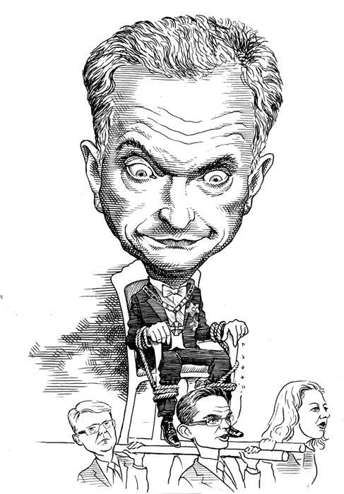 Kuvittaja Lasse Rantanen