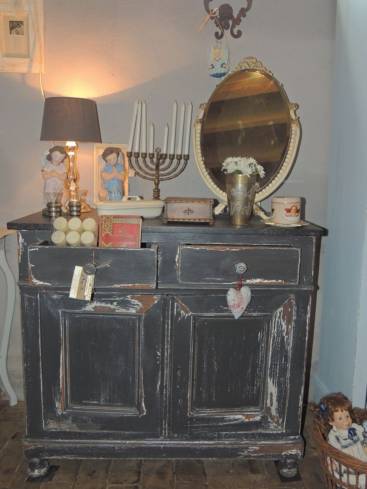 Oude commode
