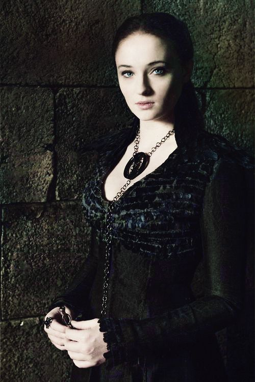 The jewellery piece i made for Sophie Turner's character  Sansa Stark on HBO's Game of Thrones.