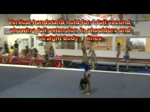 ▶ USAG Level 3 Floor Exercise Tutorial: New Routines 2013-2021 - YouTube