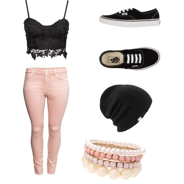 Sin título #5 by paaaaudirection on Polyvore featuring polyvore, moda, style, H&M, Vans, Lipsy, Coal and fab