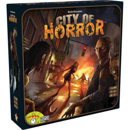 City of Horror Board Game