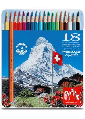 Caran D'ache Prismalo Colouring Pencils - 18pc