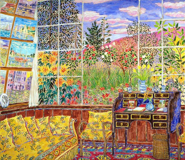 Monet's first Studio at Giverny, 1902 by Damian Elwes