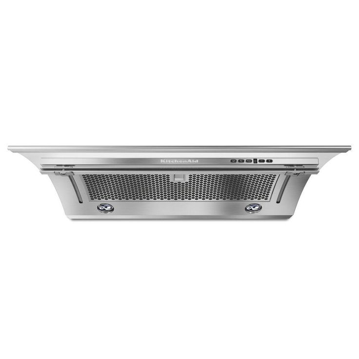 Kitchenaid 36 In Convertible Under Cabinet Slide Out Range Hood In Stainless Steel Kxu2836yss Stainless Range Hood Stainless Steel Oven Built In Dishwasher