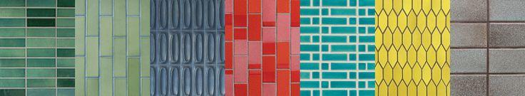 Tile & Build - Heath Ceramics [cool retro tile :)]