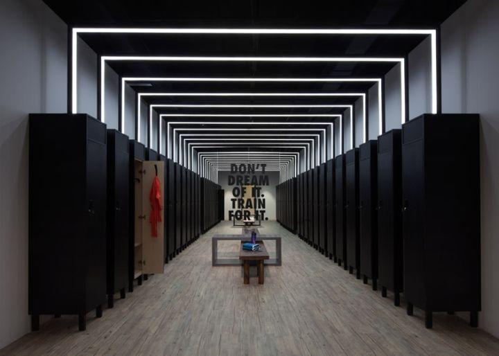 LE CONCEPT Pour les mondiaux d'athlétisme qui se sont déroulés fin août à Beijing, Nike a transformé une galerie d'art en centre d'entrainement sportif.