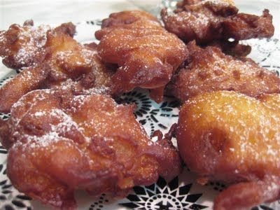 St Joseph's Day 19 March! Zeppoles with powdered sugar ( the real way) for St Joseph's day 19 March !