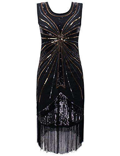 PrettyGuide Women 1920s Vintage Beads Sequin Fireworks Fringed Flapper Dress Black S PrettyGuide http://www.amazon.com/dp/B018S9VJ54/ref=cm_sw_r_pi_dp_f7GFwb1WESXZ8