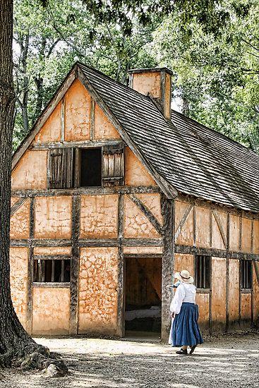 Jamestown model house