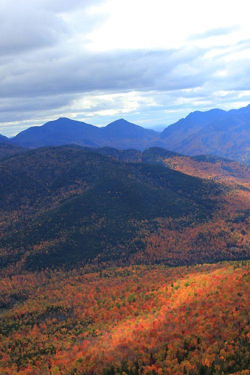 Adirondack's in the fall