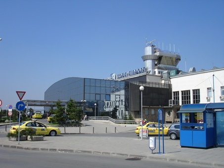 Sofia Airport old building, now T 2
