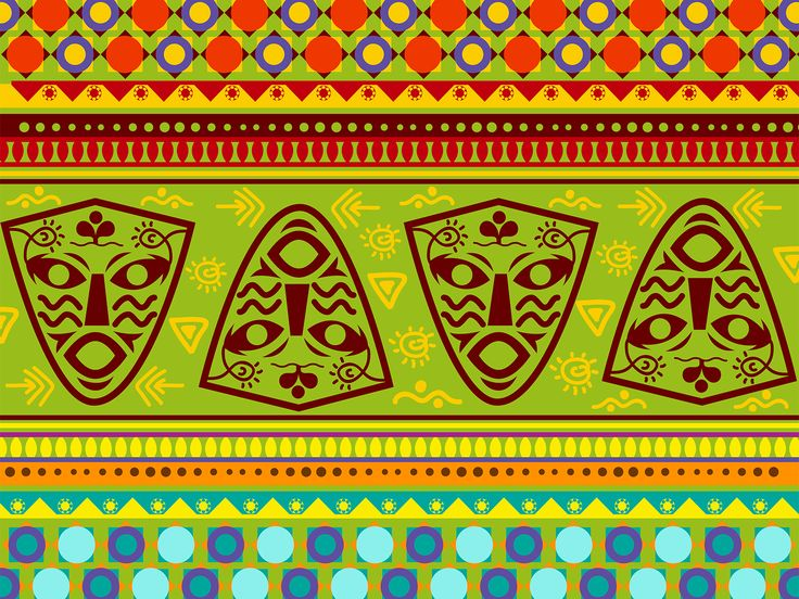 African Decoration Power Templates