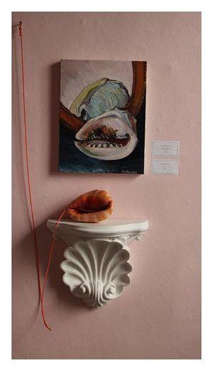 Lucie de Moyencourt   'Still Life, Deyrolle'   Oil on Canvas
