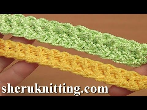 Crochet Cord With Puff Stitch Tutorial 100 Romanian Point Lace - YouTube