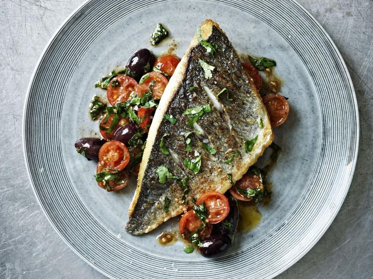 Seabream with Tomato Herb Salsa --- This is fantastic!!! I used red snapper (I don't think we can get sea bream in the states) The salsa is amazing and works with chicken, as well