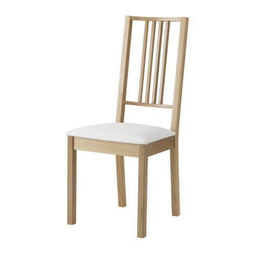 IKEA - BÖRJE, チェア, カバーは着脱が簡単ですカバーは取り外して洗濯機で洗えますシートにはクッションが入っているので、快適な座り心地です