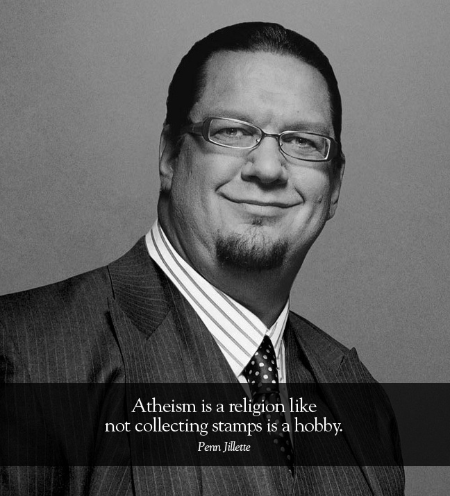 "Penn Jillette and his newest book, ""God, No!"""