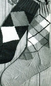 Argyle Socks Patterns