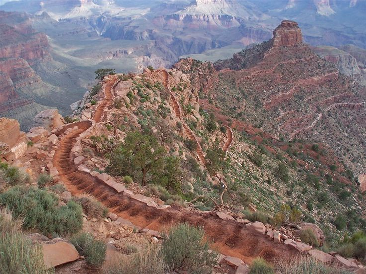 Grand Canyon Bright Angel Trail | Au Pays des Canyons