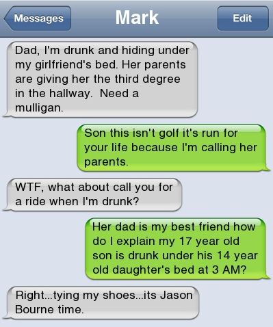 Epic text - Dad im drunk - http://jokideo.com/epic-text-dad-im-drunk/