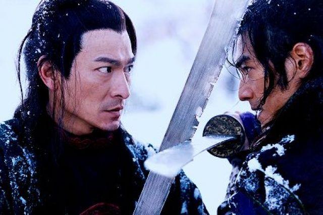 Andy Lau, Takeshi Kaneshiro dans Le Secret des poignards volants